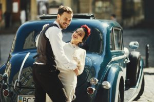 matchmaker-happy-couple-vintage-car